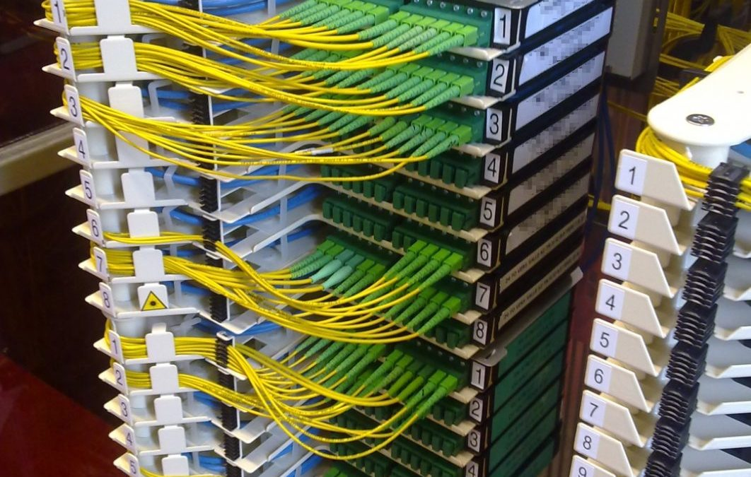 Connexion et raccordement fibre