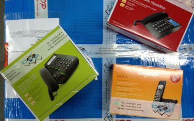 Téléphone filaire et téléphone sans fil