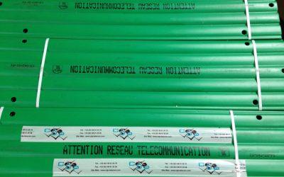 Protection fourreaux pour cables
